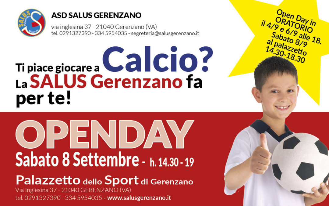 Openday CALCIO