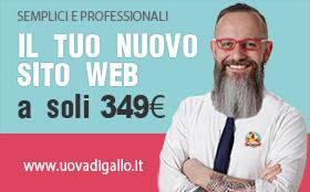Il tuo Nuovo Sito web a soli 349 euro! UOVADIGALLO.it